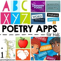 Happy Poetry Month! When it comes to teaching poetry for kids, keeping the material playful and interactive is key. While it is important to teach concepts such as metaphors, similies, and alliteration, most kids will grasp these concepts quicker through creative creation. These 10 Interactive Poetry Apps for Kids are designed to do just that - keep kids playing, creating, and engaging with poetry. Poetry Apps for Kids Acrostic Poem by International Reading Association Acrostic Poems This…