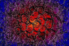 Stardust - Techno art print auf Leinwand  $394.46