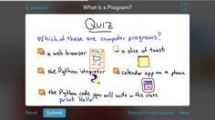 Udacity: Learn Programming (Free, iOS and Android) is a convenient way to learn how to code, on-the-go. 13 Apps That'll Teach You Something New Every Day Learn Programming, Programming Languages, Computer Programming, Foreign Languages, Computer Technology, Study Skills, Study Tips, Interactive Whiteboard, Vocabulary Games