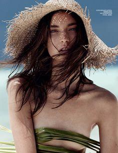 Jacquelyn Jablonski by Emma Tempest, Vogue Russia