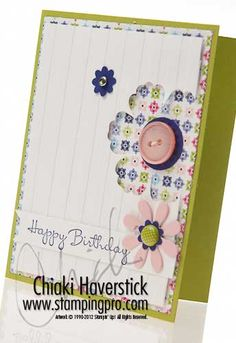 Chiaki Haverstick... GREAT blog!  Lots of nice cards.