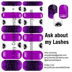 For all my beautiful Younique friends! I dare you to ask about my lashes as you stare at my beautiful nails!   #younique #lashes #3d