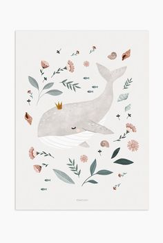 Art Print - baby whale - Art Print – baby whale Best Picture For kids For Your Taste You are looking for something, and - Art And Illustration, Illustration Mignonne, Illustration Inspiration, Art Inspiration Drawing, Cute Animal Illustration, Animal Illustrations, Fashion Illustrations, Whale Drawing, Whale Painting