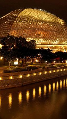 Esplanade Theatre, Singapore. Or what many locals and taxi uncles named it affectionately- The DURIAN. :)