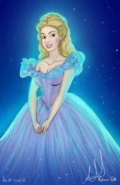 Cinderella by Kevsoraone on DeviantArt Cinderella Live Action, Cinderella Prince, Disney Princess Cinderella, Disney Princesses, Cinderella Doll, Walt Disney, Disney Live, Disney Pixar, Cinderella Wallpaper