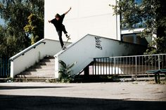 Marcel Weber – Noseblunt | Photo: Hendrik Herzmann | Monster Skateboard Magazine #339