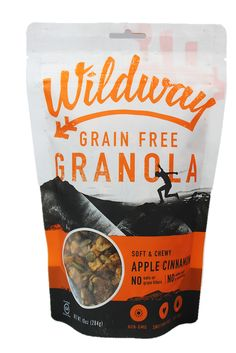 Grain-free Granola - Apple Cinnamon:  Apples, cinnamon and spice, and everything nice. For a taste akin to apple pie, this flavor boasts an irresistible combination of apples, cinnamon, nutmeg, and 100% vanilla beans that will keep you coming back for more.  Ingredients: Organic dates, apples, walnuts, sunflower seeds, pumpkin seeds, dry roasted cashews (cashews, sea salt), pecans, cinnamon, nutmeg, vanilla bean. #paleo #whole30 #vegan