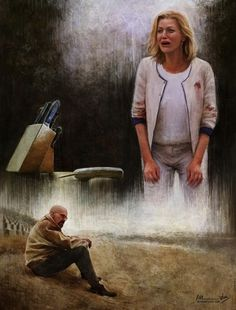 Superbes peintures Breaking Bad par Isabella Morawetz