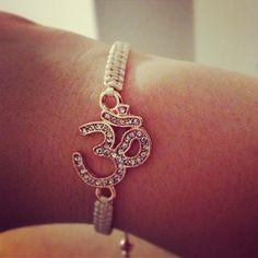 Aum Ohm Om Rose Gold Bracelet