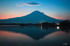 Lake Tanuki, Japan.