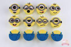 Cupcakes! - Minion cupcakes www.facebook.com/cuppyandcake