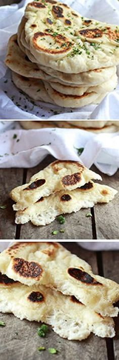 Homemade Naan (with step-by-step photos) | halfbakedharvest.com @hbharvest
