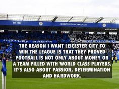 Leicester City!