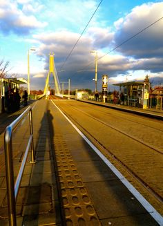 Dundrum Luas Station, Dublin (Photo by Zuzanne)