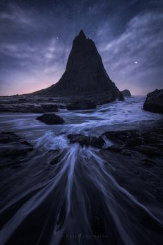 """The Wizard's Spell - <a href=""""http://www.shainblumphoto.com/premium-photography-tutorials/"""">Learn how I process my landscape photography by clicking here.</a> Taken during a beautiful evening in Half Moon Bay, California."""