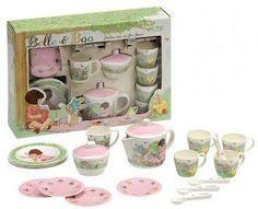Belle & Boo Dolls Dollies 19 Piece Tea Set for Four - Melamine: Amazon.co.uk: Toys & Games