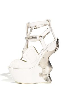 These are also well over $4,000... I have never seen a shoe shaped like this (except on lady gaga)