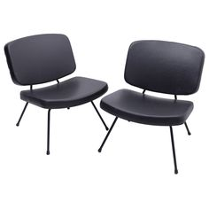 pierre paulin pair of chairs model cm 190 thonet free delivery