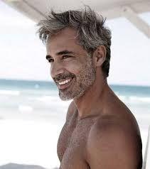Image result for mens haircuts grey hair