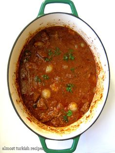 Almost Turkish Recipes Priest's Beef Stew (Papaz Yahnisi)