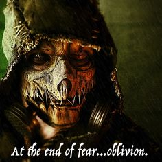 "Scarecrow has always been one of the most interesting villains in Batman's so-called ""Rogue's Gallery"". In Batman Arkham Knight, he's leading a crazed, twisted assault on Gotham City. Will he succeed? Or will Batman foil his toxic plans again? Whatever happens, Scarecrow will make people suffer. It's what he does best."