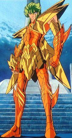 Saint Seiya - Marina Kraken Isaac. The man who forgot the feelings