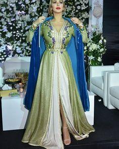 Sélection caftan Marocain 2017 styles de luxe crées par Selma Benomar styliste professionnelles au Maroc , France et Emirats .
