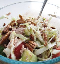 Cabbage and Tuna Salad