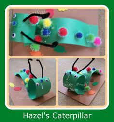 Insects Theme for Preschool/Daycare | Caterpillar Craft