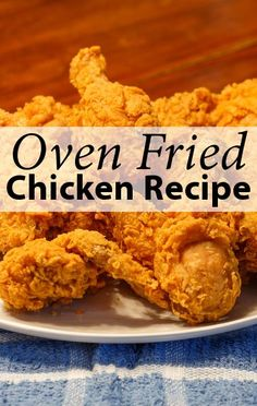 Need to try out this healthy alternative recipe for fried chicken. All the taste, without the fat and grease. HALF the calories of traditional fried chicken. Clinton Kelly uses yogurt to keep the meat moist and juicy!