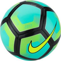 Nike Pitch Soccer Ball in turquoise, available at www.soccerpro.com