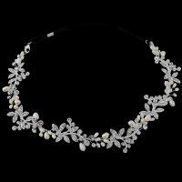 LUXURY EMBELLISHED HAIRVINE - SASSB - IVORY - BRIDAL WEDDING TIARAS AND JEWELLERY