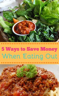 5 Ways To Save Money When Eating Out
