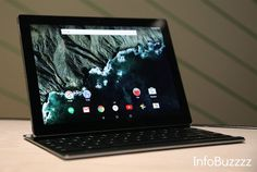 Google introduced Pixel C a large screen tablet with high specs. The Pixel C is a tablet, not a laptop, but it does convert to a laptop-like form factor with the addition of a clever detachable key...