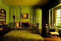 Thorne Miniature Rooms: So small yet so real 芝加哥艺术馆玩具房间收藏 by Y. Peter Li Photography, via Flickr