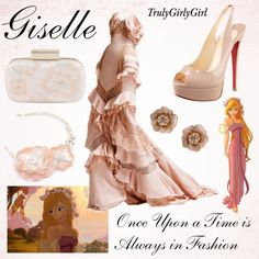 Disney Style: Giselle, created by trulygirlygirl on Polyvore