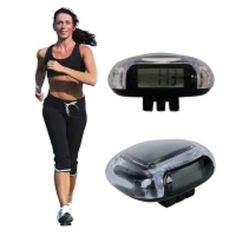 Crystal Multi Function Electronic Pedometer with Calculated Calories -  on SALE