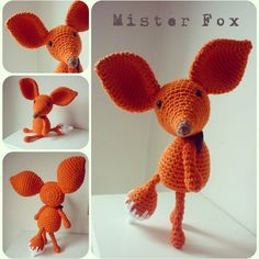 Mister Fox A Crochet PDF Pattern by AnnaboosHouse on Etsy, £3.00
