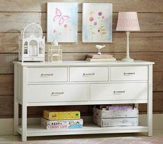 Wide dresser cabinet