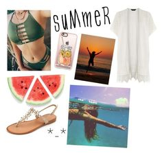 """""""Summer🌞🏊💶💓👗👏✌👍💦😂"""" by chica1622 ❤ liked on Polyvore featuring Dorothy Perkins and Casetify"""