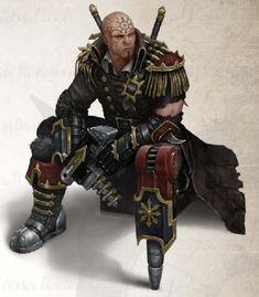 Warhammer 40k - Pirate - Chaos Reaver - Captain - Bolt Pistol