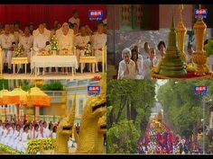 Cambodia - Norodom Sihanouk King's Ashes Paraded | Royal Palace 11 July ...