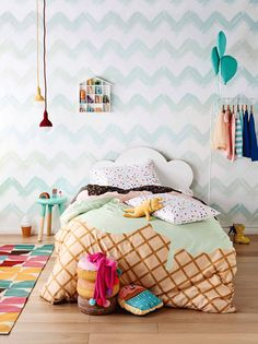 Kids' Rooms with a Summery Feel - by Kids Interiors