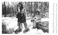 Ojibwa men – 1870