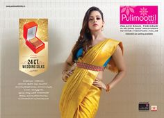 Wedding shopping from a single destination. The wedding stores have a grand collection of #silkweddingsarees, #designerwear such as #lehengas and #weddinggowns. Pulimoottil Silks is the world best wedding destination.