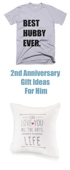 2nd Wedding Anniversary Cotton Gift Ideas: Traditional 2nd Wedding Anniversary Gifts For Him: Cotton