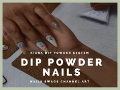 Kiara Sky Dip Powder Nails | DIY Ombre Nails with Kiara Skyp Dip Powder ...