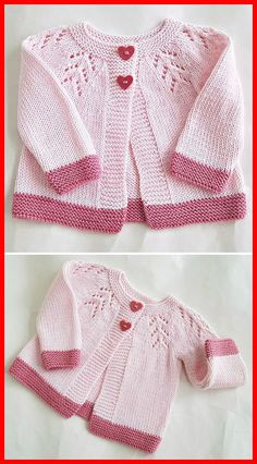 Best 12 Entrelac knitting looks scary, but trust me, you can handle it! Here are some tips to help y… Best 12 Entrelac knitting looks scary, but trust me, you can handle it! Here are some tips to help y… Baby Cardigan Knitting Pattern Free, Knitting Baby Girl, Baby Sweater Patterns, Baby Patterns, Knitting Patterns Free, Free Knitting, Knitted Baby Cardigan, Beginner Knitting, Romper Pattern