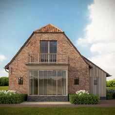 Anje Dhondt architecture - my idea of a barn conversion!