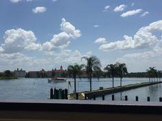 A view off a hotel in Orlando, Florida